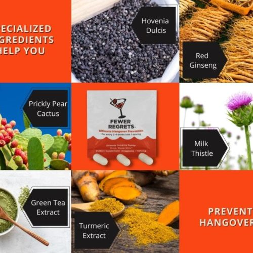 Fewer Regrets Hangover Prevention