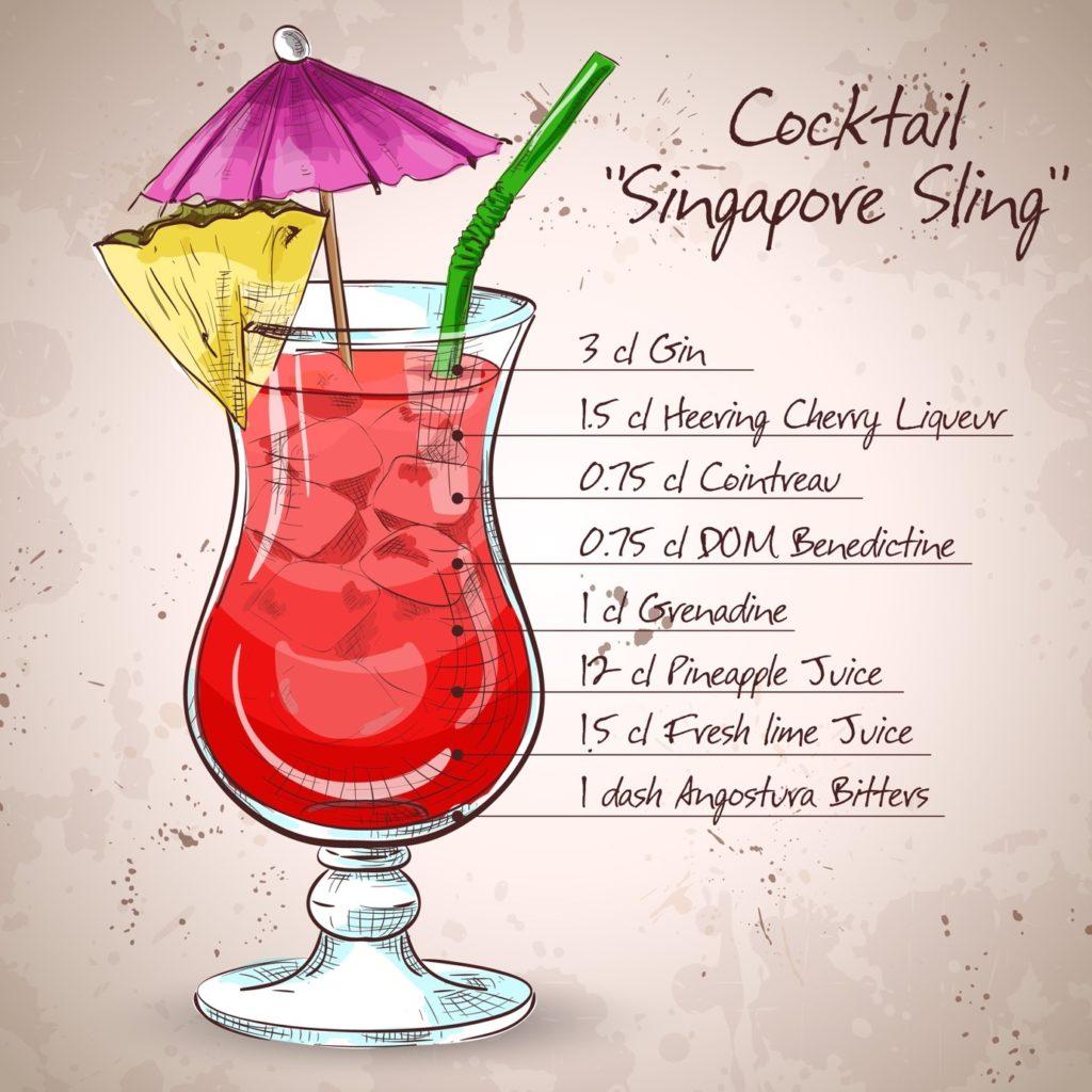 Singapore Sling Recipe