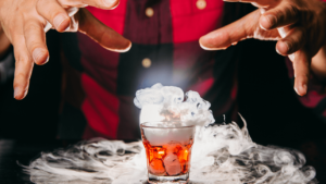 Spooky Dry Ice Cocktails for Halloween