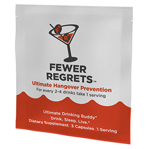 Fewer Regrets Packet-1count